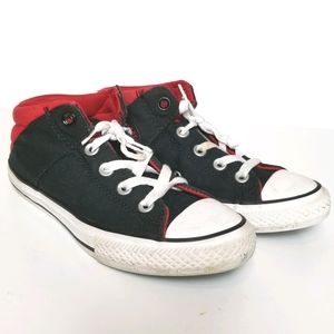 CONVERSE ALL STAR CHUCK TAYLOR RED WHITE SNEAKER 3